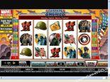 machine à sous gratuit Captain America CryptoLogic